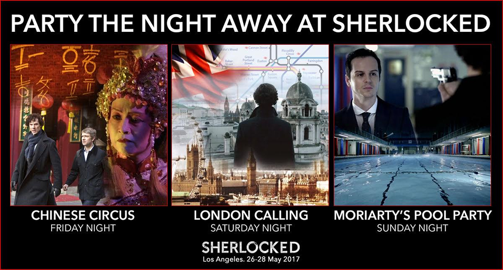 USA Sherlocked Parties