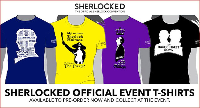 Pre-Order your Sherlocked T-Shirts